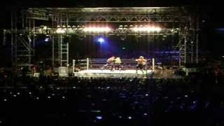 WWE Wrestlemania 25 Smackdown Tour Peru: Undertaker vs Umaga (21/02)