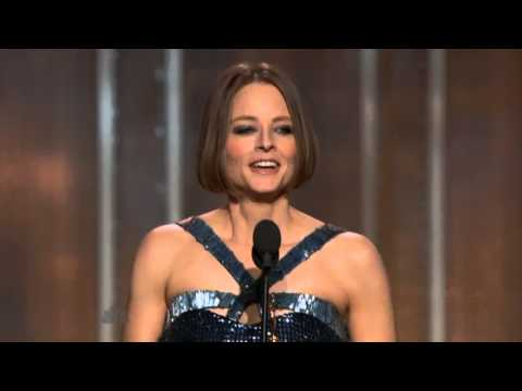 Jodie Foster - Golden Globes 2013 Full Speech. [Extraordinary]