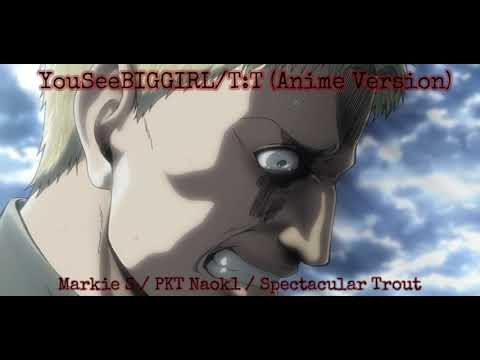 Attack On Titan OST: YouSeeBIGGIRL/T:T (Anime Version) (Reiner's & Bertholdt's Transformation)