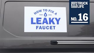 Truck Life: How to Fix a Leaky Faucet | Ford