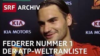 Federer Nummer 1 der ATP-Weltrangliste (2004)