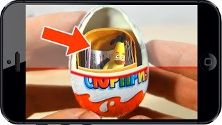 Киндер. СКАНЕР. Лайфхак. Энгри Бердз. Kinder Surprise. Angry Birds