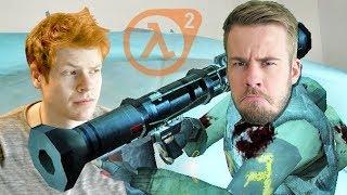 VÄLDIGT NERVÖST! - Half Life 2 Co-op med Matinbum #20