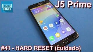 Samsung Galaxy j5 Prime aplicando hard reset configurações de fábrica