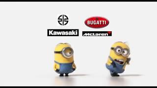 Kawasaki Ninja H2r vs Bugatti Veyron, Mclaren Mp4-12C Drag Race