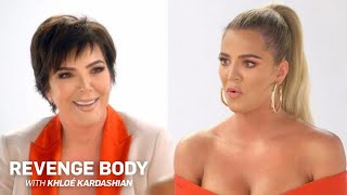 "Kris Jenner Plays ""Revenge Body"" Host to Khloé Kardashian 