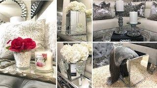 DIY Room Decor Ideas!   Glam Mirror Decor Dollar Tree & Hobby Lobby