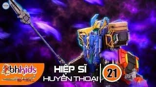 Siêu Nhân Hiệp Sĩ Huyền Thoại (Legend Heroes) Tập 21 : Kỳ Lân Thần