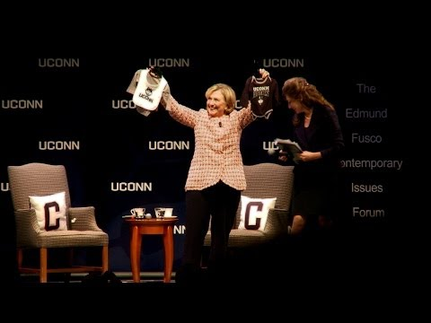 Hillary Rodham Clinton Speaks at UConn