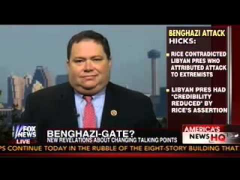 Farenthold Talks Benghazi on Fox News