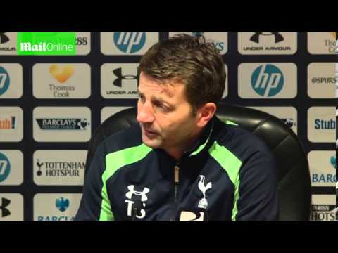 Tim Sherwood's post match reaction after Spurs beat Everton 1 0