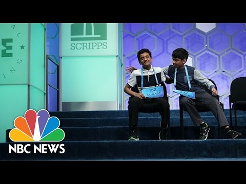 The National Spelling Bee Through The Decades | NBC News