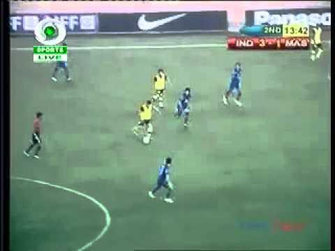 Video Gol Malaysia Vs India 16 11 11 Safee Sali!! {bardbahtiar} video