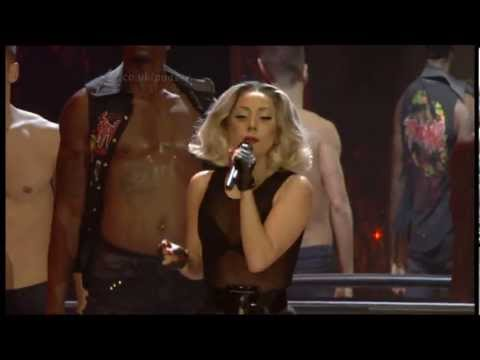 Lady Gaga Born This Way & Marry The Night (Children In Need) 2011 UK