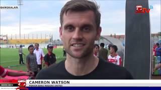 download lagu Cameron Watson Terkesan Dengan Antusiasme Fans Sepakbola Di Madura gratis