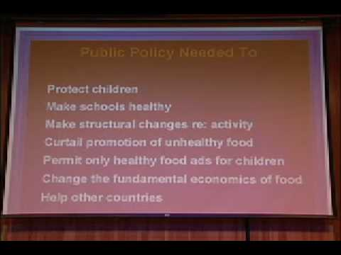 The Politics of Obesity: Confronting Our National Eating...
