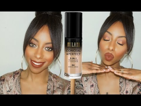 GRWM: Everyday Drugstore Makeup + Milani Foundation Review/Demo || Jessica Pettway