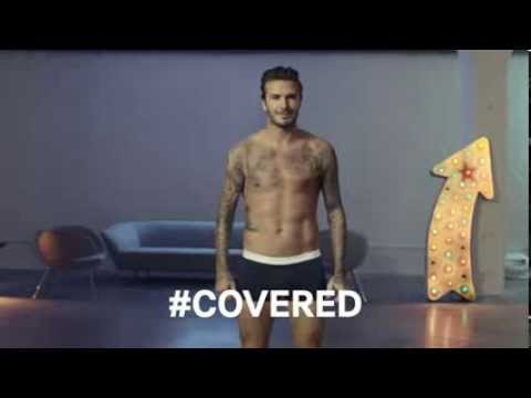 David Beckham - H&M 2014 Advert preview