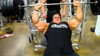 Jay Cutler 405lbs Incline Bench Press