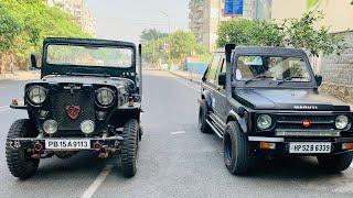 My Gypsy & 1985 Mahindra Jeep CJ 3B Together   Stock Mahindra Jeep CJ 3B In 2019   Jeep CJ 3B