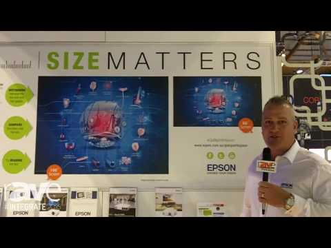 Integrate 2016: Epson Talks About the Importance of Screen Size in Education Applications