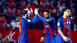 Neymar vs Sevilla (Away) 06/11/2016 HD 1080i by SH10