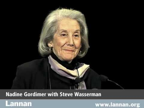 Nadine Gordimer with Steve Wasserman, 3 Dec. 2003