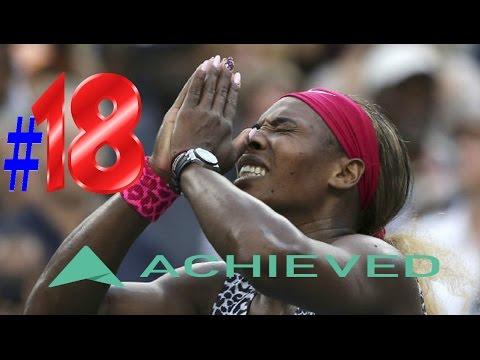All 18 of Serena Williams Grand Slams Winning Moments!