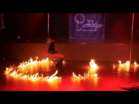 Стрип-пластика, хореограф Анастасия Романцова! Indigo Dance Studio Отчетный концерт 2015!!!