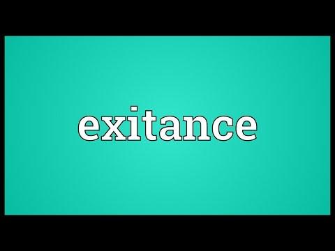 Header of exitance