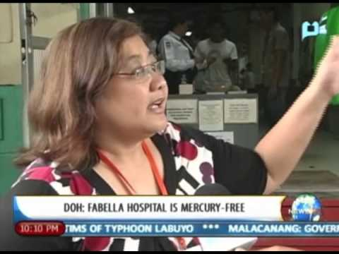 [NewsLife] DOH: Fabella Hospital is mercury-free || August 13, 2013