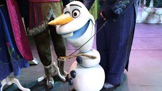 Frozen Musical Disney Cruise Line Behind the Scenes
