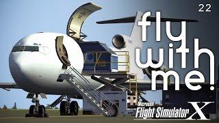 Microsoft Flight Simulator X - 727 to Nashville Part I