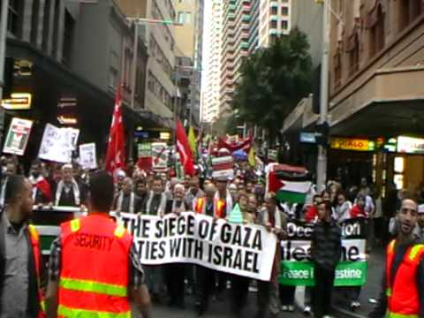 Gaza solidarity march - Sydney, Australia