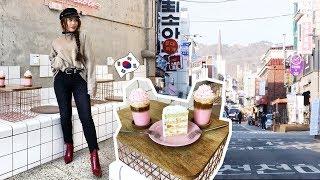 SEOUL SOUTH KOREA 2018 VLOG | Instagram Cafes, K-Drama spots, Shop + Eat with me✨