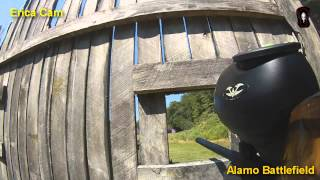 Battle at Alamo Scenario game at Top Gun Paintball Part 1