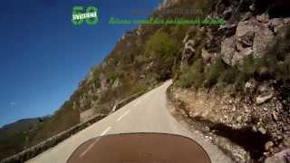 Roadbook moto Ardèche : Lac d'Issarles