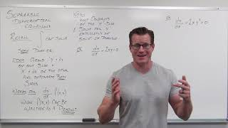 Separable Differential Equations (Differential Equations 12)