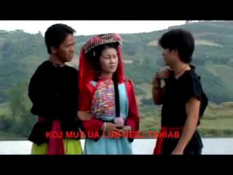 Hmoob, Hmong music video.Tsis Tu Siab, by keng lee, keem lis
