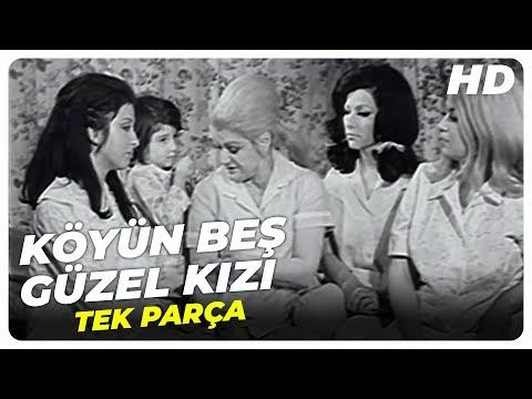Film İzle - Köyün Beş Güzel Kızı - Türk Filmi