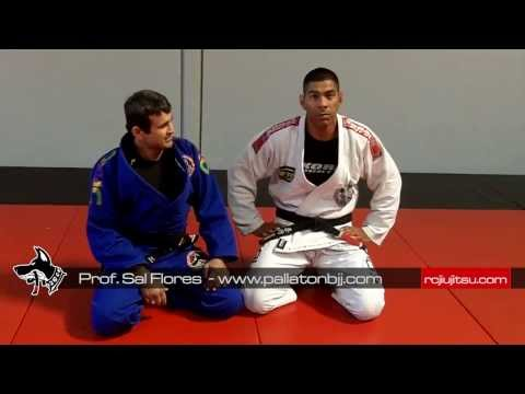 Jiu Jitsu Techniques - Taking the Back From Half Guard Image 1