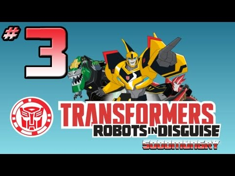 Transformers: Robots In Disguise Video Game - PART 3 - Optimus Prime & Steeljaw Gameplay