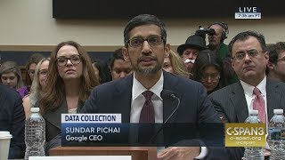 Google's CEO testifies before Congress