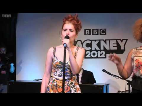 Paloma Faith Rudimental Feel The Love BBC Radio 1 Live Lounge 2012