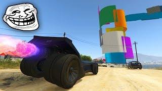 CARRERA TROLL! SUPER ÉPICA!! - CARRERA GTA V ONLINE - GTA 5 ONLINE