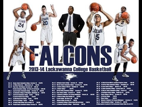 Lackawanna College Men's Basketball Team Highlight 2013-14