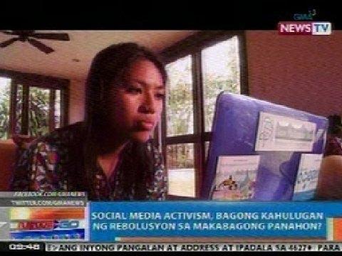 media activism, bagong kahulugan ng rebolusyon sa makabagong panahon