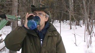 Three Methods of Getting Drinking Water from Snow (see third method in the description)