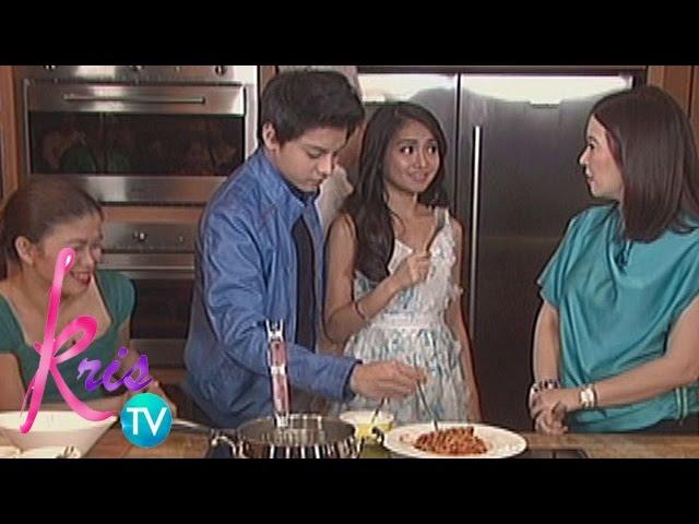 Kris TV: Kathryn cooks for Daniel