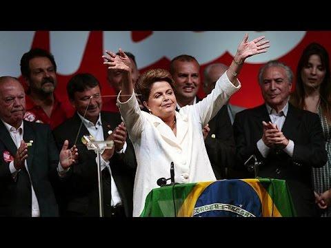 Dilma Rousseff gana por la mínima en las presidenciales brasileñas